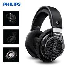 Original philips shp9500 fone de ouvido de som de alta qualidade com microfone fones de ouvido de redução de ruído para xiaomi suporte teste oficial