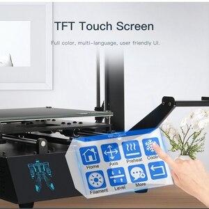Image 2 - ANYCUBIC i3 ميجا ميجا S طابعة ثلاثية الأبعاد حجم كبير منصة الطباعة الإطار المعدني الكامل عالية الدقة FDM ثلاثية الأبعاد مجموعة الطابعة impresora ثلاثية الأبعاد