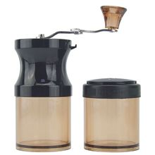 Protable Manual Coffee Bean Grinder Mill with Fixing Clip Mini Hand Crank Travel Camping Adjustable Multifunction Grind  U1JE