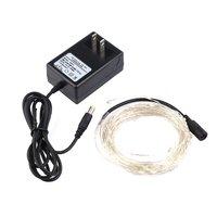 3 m 30 led fio de cobre led string luz led corda de fadas ao ar livre decoração do feriado pátio lâmpada luz|Fios de iluminação| |  -