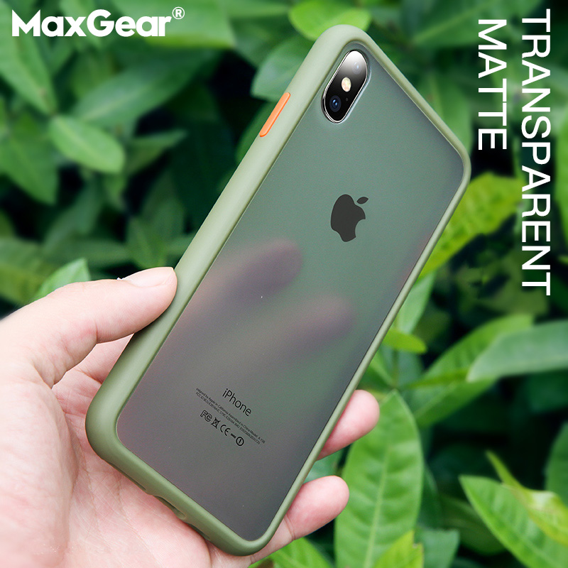 Shockproof Transparent Hybrid Silicone Phone Case For iPhone X XS XR Max 8 7 6 6S Plus