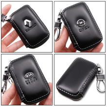 Key Wallet Key-Case Land-Rover Volvo Peugeot Fiat Genuine-Leather Fashion for Multi-Function