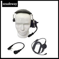 baofeng uv 5r מכשיר קשר אוזניות אוזניות עבור KENWOOD Baofeng UV-5R BF-888s Retevis H777 (1)