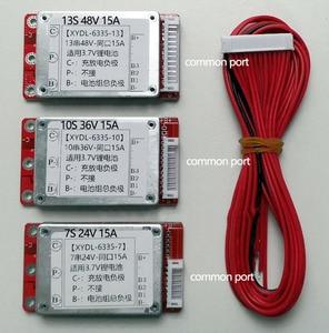 Image 4 - eBike 7S 24V 10S 36V 13S 48V 16S 17S 64V 21S 72V Lithium Battery Protection Board Li ion Lipo ion BMS PCM Packs 15A 30A 50A 60A