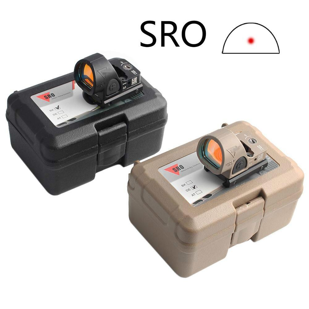 Magorui Mini RMR SRO kırmızı nokta kapsamı kolimatör Glock yansımalı nişangah kapsam fit 20mm ray ve Glock dağı Airsoft/Av tüfek
