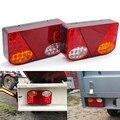 1 пара 12V светодиодный автомобиль задние светильник хвост светильник задний стоп-сигнал светильник сигнальные лампы индикатора для Фургон ...