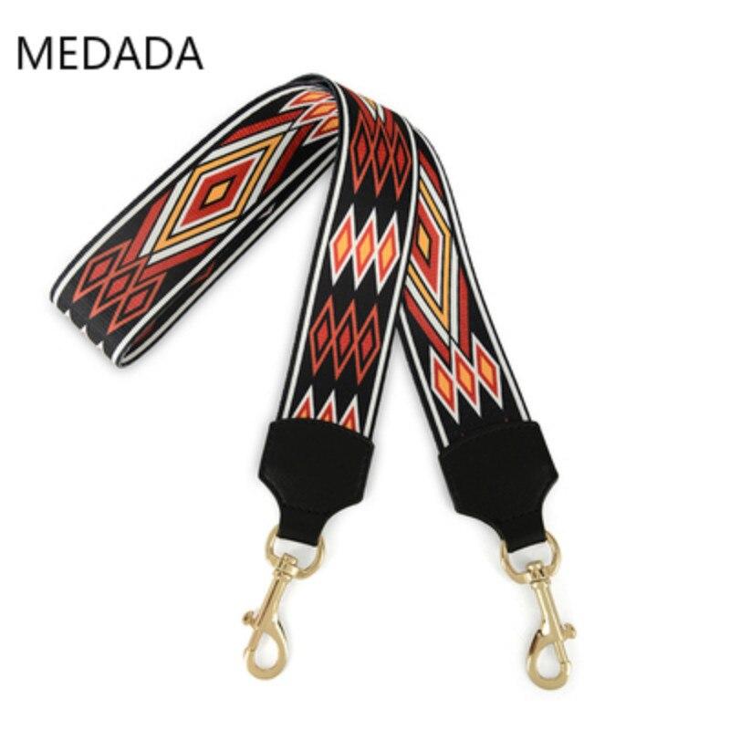 MEDADA  Fashion woman 5cm wide shoulder strap new belt accessory bag part for