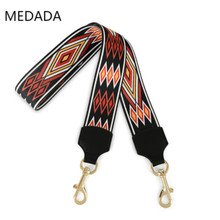 MEDADA  Fashion woman 5cm wide shoulder strap new belt accessory bag part for