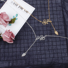 Fashion Carved Owl Long Chain Necklace Women Cute Leaf Animal Pendant Clavicle Statement Necklace Jewelry цена 2017