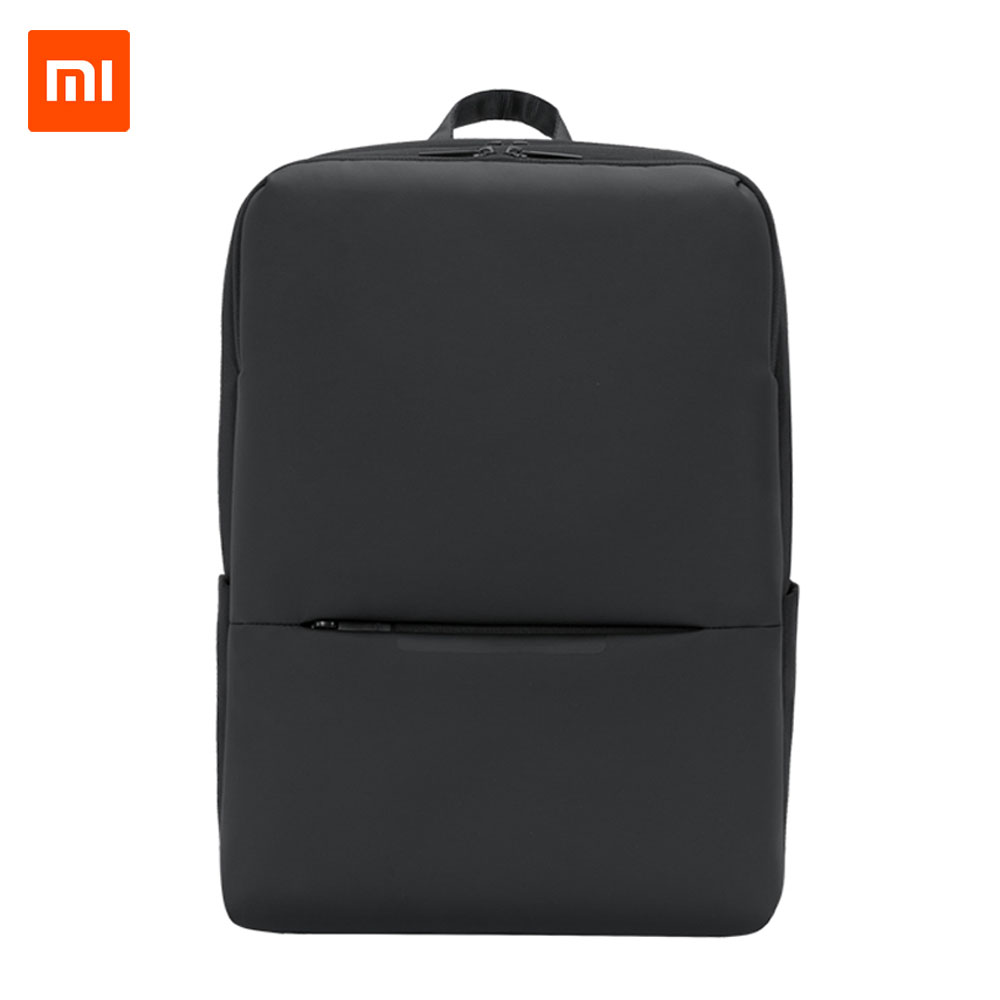 Original Xiaomi Classic Business Backpack 2 Generation 15.6inch Students Laptop Shoulder Bag Unisex Outdoor Travel image