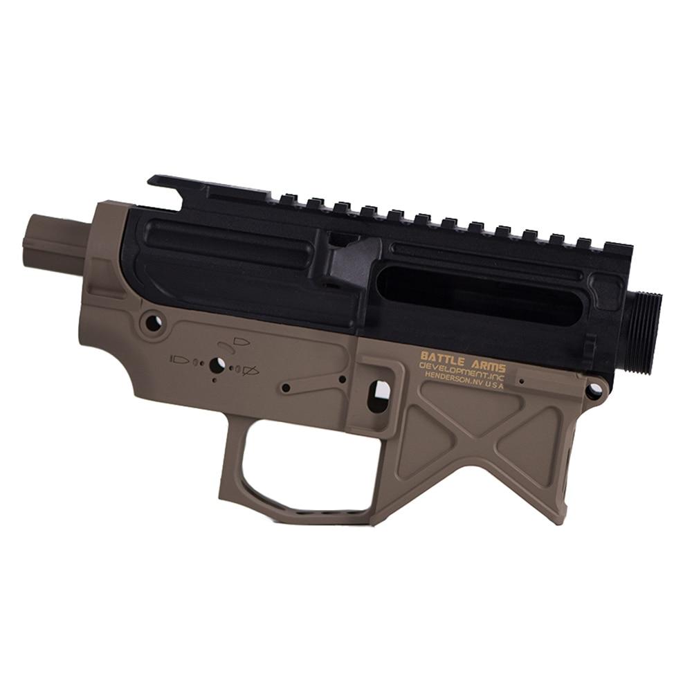 Nylon BD556 Airsoft Receiver For Gel Blaster AEG Body Gel Split Air Guns Gearbox Paintball Accessories