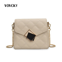 Fashion Women Handbag Brand Luxury Leather Shoulder Chain Bag Side Bags Small For Ladies Mini Bags For Women 2019