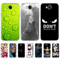 Fall Für Huawei Y5 2017 Fällen Silizium Weichen Muster Funda Auf Huawei Y6 2017 Y5 III Honor Spielen 6 TPU lustige Gemalt Telefon Coque
