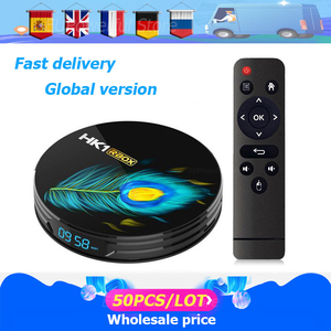 50 pçs/lote Android caixa de tv Android 11 HK1 RBOX R3 8K RK3566 Quad Core Media player Play Store Rápido Android smart tv Set top box