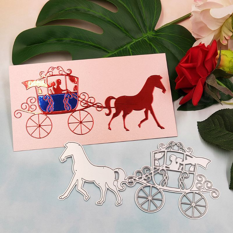 Simple Cruise Ship Metal Cutting Dies for Cards Scrapbooking Craft Album Decor .