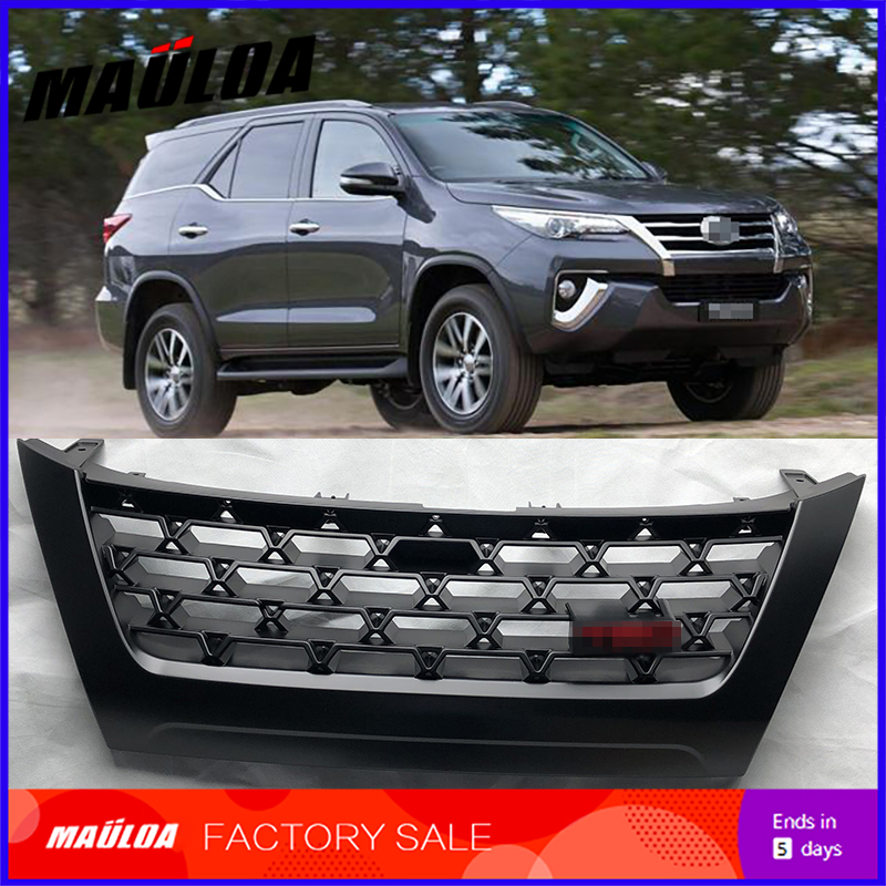 High quality Modificate ABS car front grille racing grills grill for Fortuner 2016 2017 2018 grills image