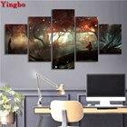 5 Panels 5D DIY Diam...