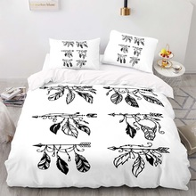 Duvet-Cover-Set Size-Bedding King Bohemian with Pillowcase 220260 Arrow-Pattern 245210