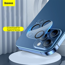 Baseus Back Camera Lens Protector For iPhone 12 11 Pro Max Tempered Glass Lens Glass For iPhone Lens Protection Film Full Glass