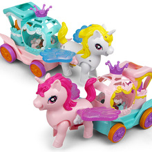 Animal trailer children early education educational toys electric light music colorful universal children's toys gifts sudoku game children s educational toys development children s intelligence toys children s early education toys gifts