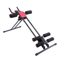 Straight Linear Type Powerful Private Fitness Club Abdomen Exerciser Black Office Home Vertical Fitness Exercise Gym Equipment