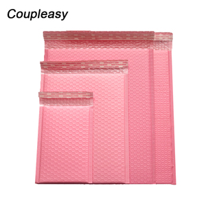 Image 1 - 50Pcs/Lot Poly Bubble Envelope Pink Mail Packaging Bags Self Seal Padded Courier Bags Waterproof Shipping Bags Mailers