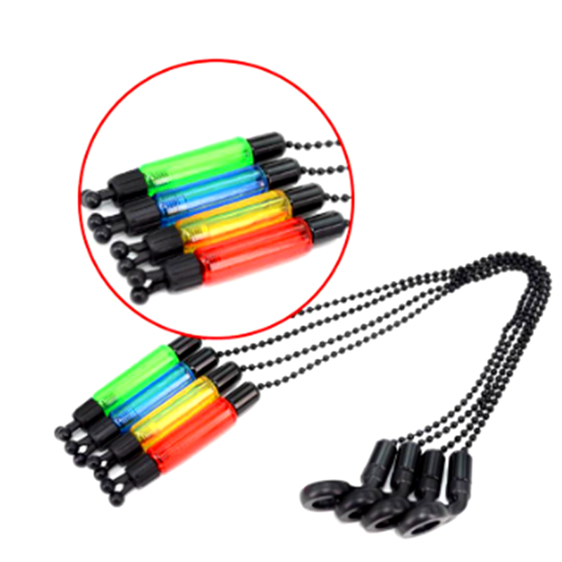 1PC Durable Fishing Pliers Bite Alarm Hanger Swinger LED Illuminated Indicator Bite Alarm Durable Fish Tools Accessories