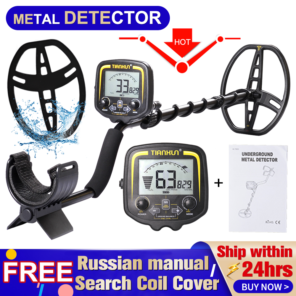 TIANXUN TX 850 Professional Metal Detector Underground Depth 2.5m Scanner Search Finder Gold Detector Treasure Hunter Pinpointer|Industrial Metal Detectors|   - AliExpress