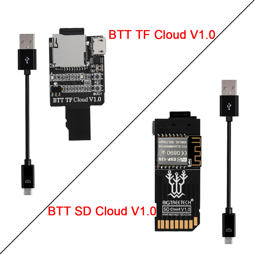 BIGTREETECH TF Cloud BTT SD Cloud V1 0 Wireless Transmission Module To SKR MINI E3 SKR V1 4 Turbo TFT35 TMC2209 3D Printer Parts