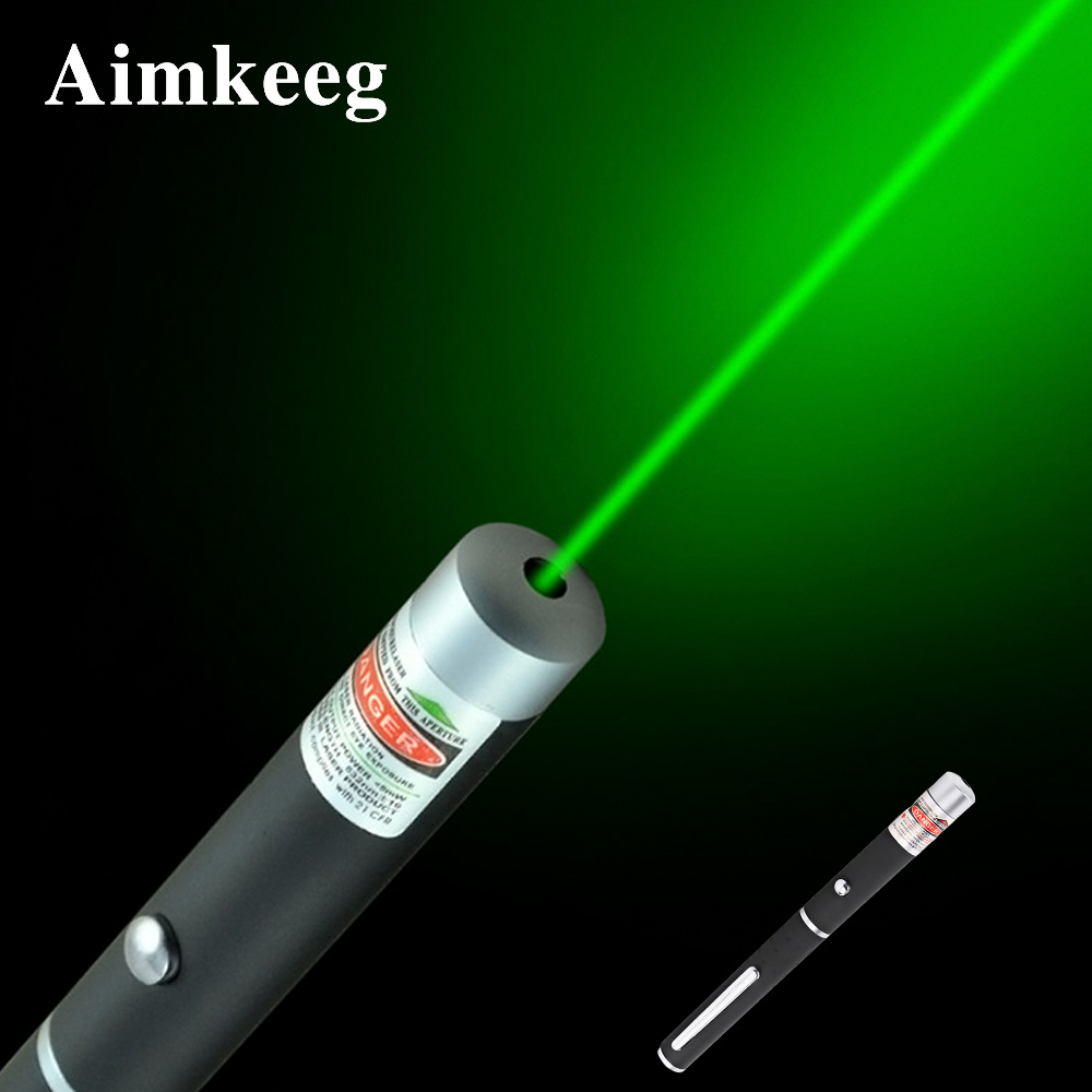 Red Green Laser Flashlight 5MW Laser Pen High Power 530Nm 650Nm Laser Pointer Indication Light For meeting classroom Torch Light