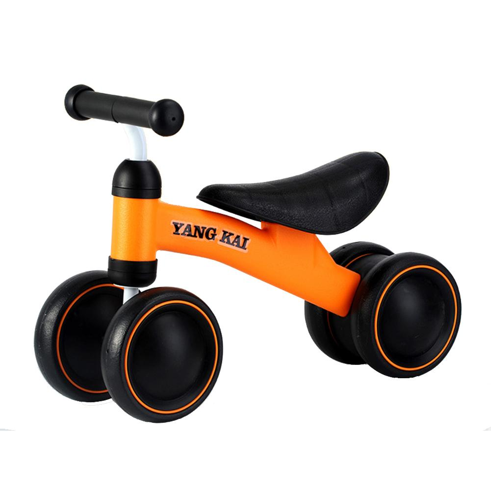 Baby Balance Bikes Toddler Bicycle With 4 Wheels For Boys Girls Ride On Toy Cars For Children To Ride In Kid Car To Drive