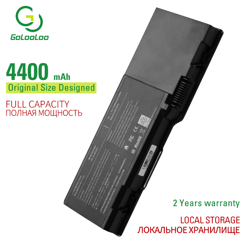 Golooloo Laptop <font><b>Battery</b></font> for <font><b>Dell</b></font> <font><b>Inspiron</b></font> <font><b>1501</b></font> 6400 Latitude 131L Vostro 1000 XU937 UD267 UD265 GD761 JN149 KD476 PD942 image