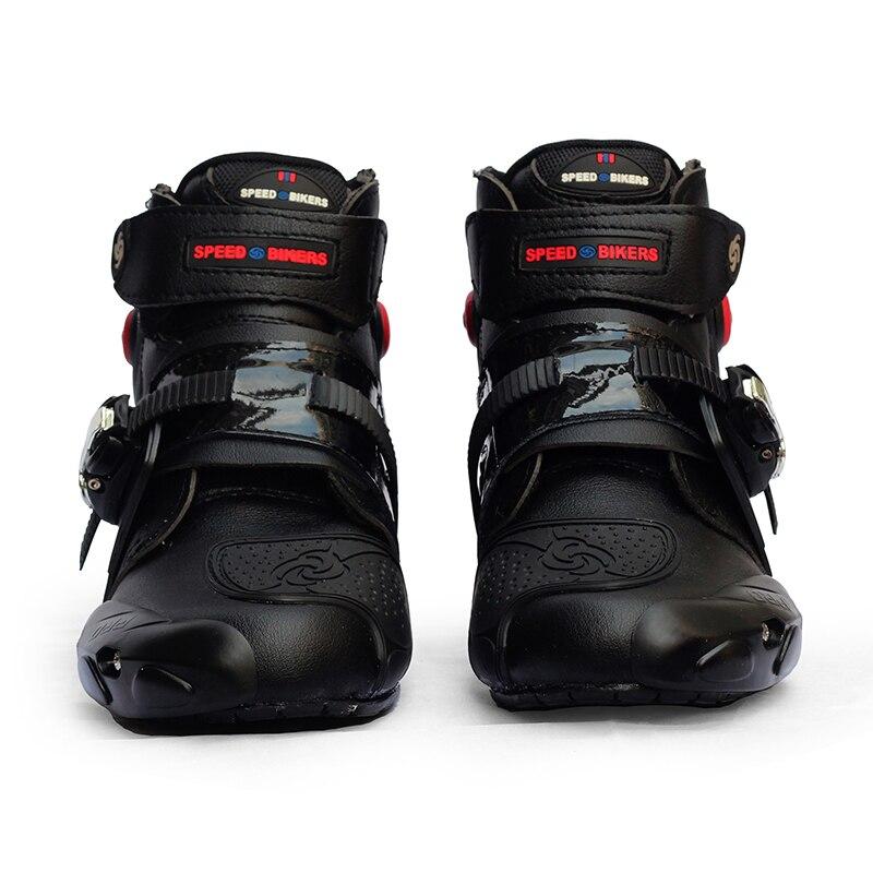 Байкерские ботинки; Водонепроницаемые ботинки для мотокросса; Нескользящие защитные ботинки для езды на мотоцикле; Ботинки для внедорожни...