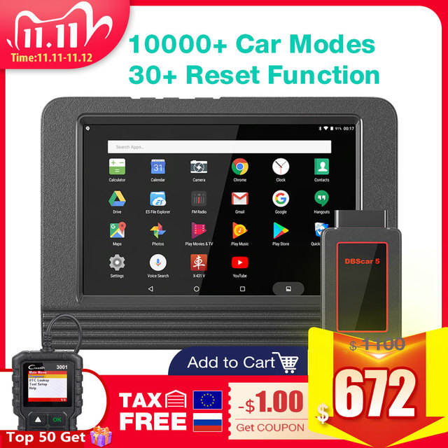 2020 GlobalLaunch X431 V 8 Wifi/Bluetooth Full System Diagnostic Tool X 431 V ECU Coding OBD2 Car Vehicle Scanner online update