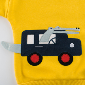 Image 5 - אביב סתיו ילדי בני בנות בגדי כותנה ארוך שרוול מכתב סטי בגדי ילדים אימונית תינוק חולצה מכנסיים 2 Pcs/חליפה