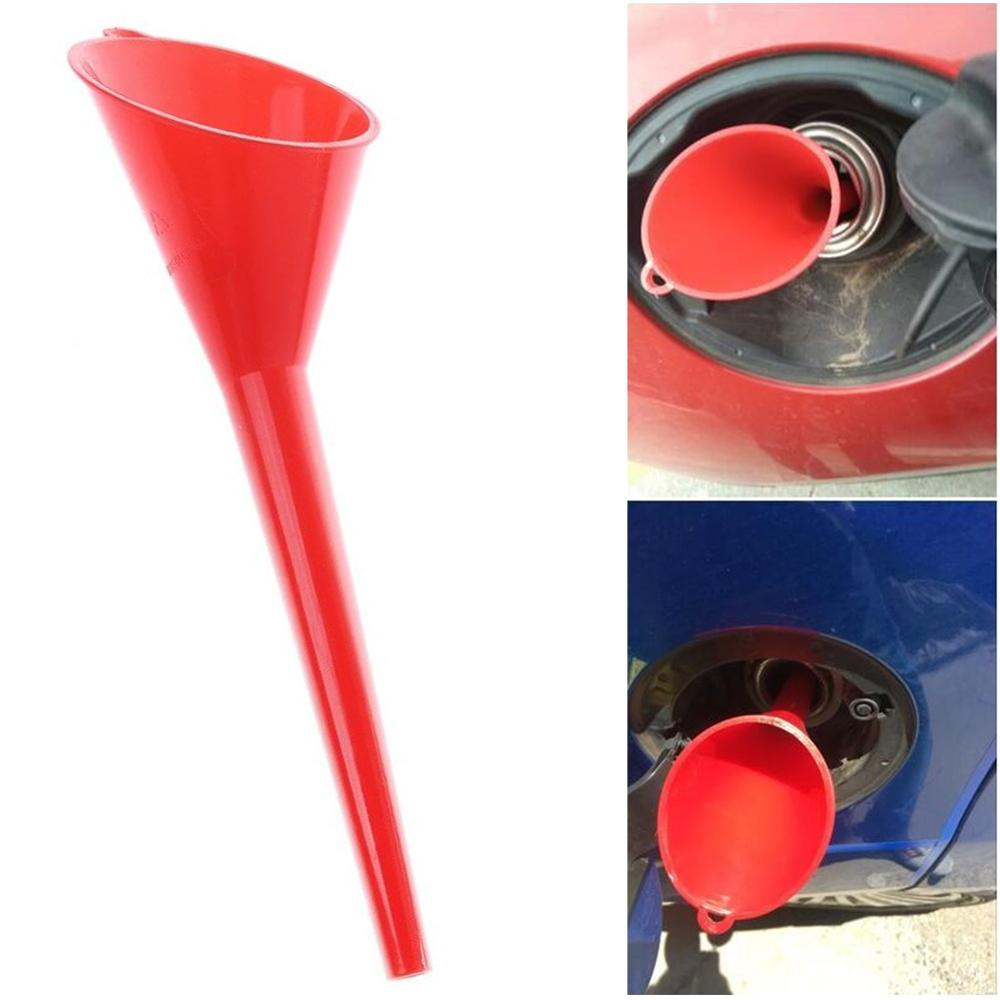 Car Refueling Long Mouth Funnel Convenient Fuel Tank Additive Car Motorcycle Farm Machine Gasoline Anti-leaking Filler Supply