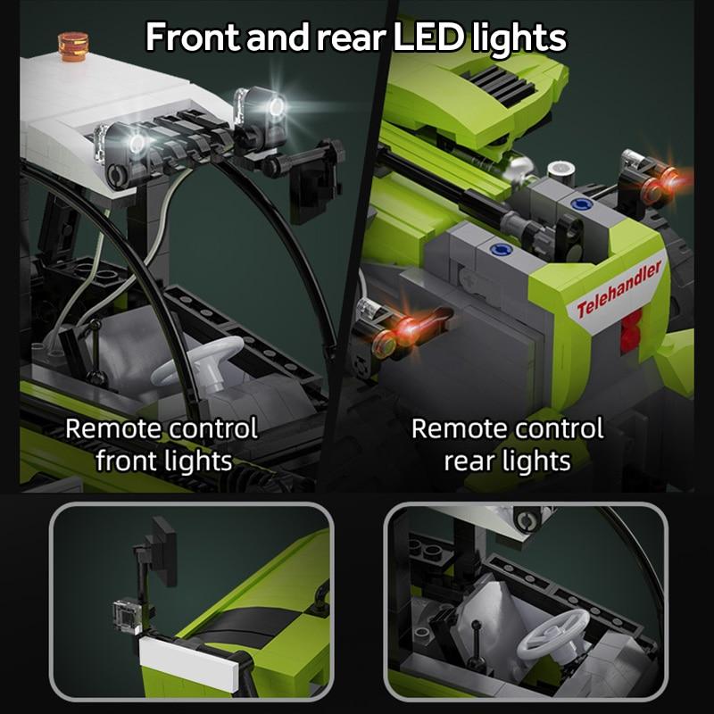 Cada C61051W Remote Control Engineering Vehicle