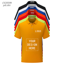 Customized unisex polo shirt with Logo printing or embroidery tailor made pure cotton Create Your Own Polo Shirt