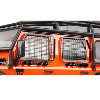 For TRAXXS TRX4 TRX-4 Defender D90 D110 RC Crawler Parts 1:10 Folding Turnover Metal Window Guard Mesh/Door Protective Net image