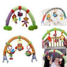 SOZZY Baby Hängen Spielzeug Kinderwagen Bett Krippe Für Tots Cots rasseln sitz plüsch Kinderwagen Mobil Geschenke tiere Zebra Rasseln 40% off