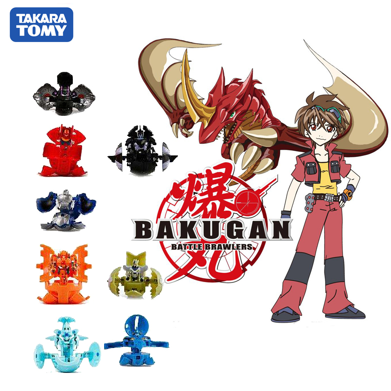 TAKARA TOMY Drago Bakugan Battle BakuCores Battle Planet Toy Batting Game Dragonoid Ball Children Toy Gifts