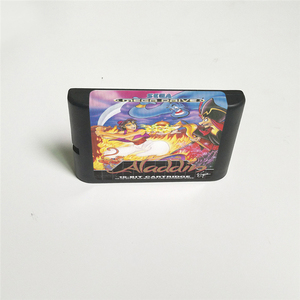 Image 2 - علاء الدين غطاء يورو مع صندوق البيع بالتجزئة 16 بت MD بطاقة الألعاب ل Sega Megadrive نشأة لعبة فيديو وحدة التحكم