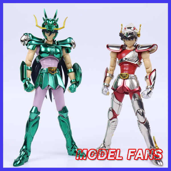 I Fan di Modello in-Stock Greattoys Grandi Giocattoli Gt Ex Bronzo Saint Seiya V1 Pegasus/Drago Casco Metal Armor myth Cloth Action Figure