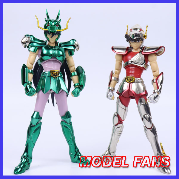 MODEL FANS In-stock GreatToys Great Toys GT EX Bronze Saint Seiya V1 Pegasus/dragon Helmet Metal Armor Myth Cloth Action Figure