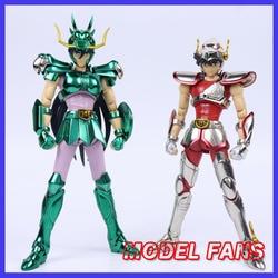 Model Fans In-Voorraad Greattoys Grote Speelgoed Gt Ex Brons Saint Seiya V1 Pegasus/Dragon Helm Metal Armor mythe Doek Action Figure