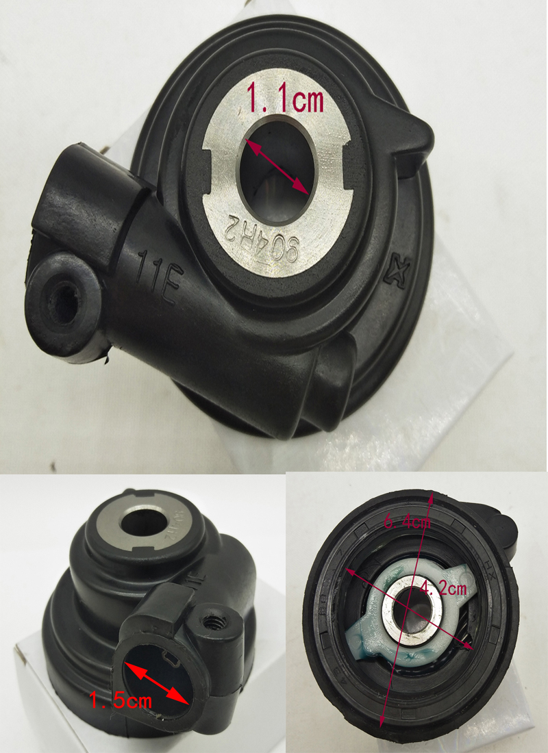 A482 Motorcycle Speedometer Odometer Drive Gear Sensor for Suzuki AN125 AN 125 HS125T UA125T Speedo Meter Driven Gear Spare Part