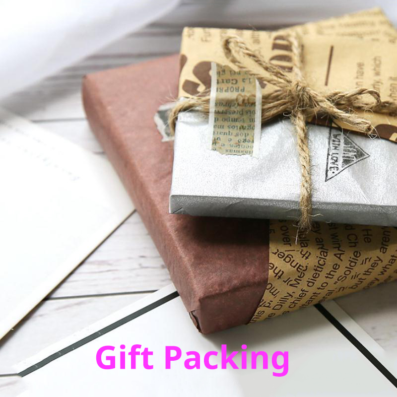 100sheet/bag A5 Retro Multicolor Wrapping Papers Floral Gift Packaging Material 6