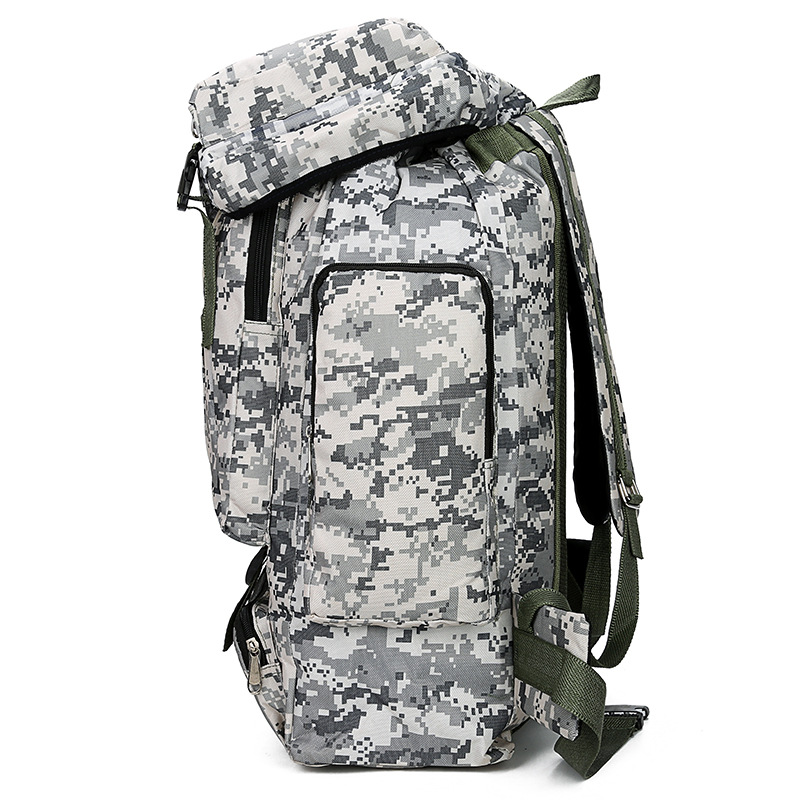 Outdoor Mountaineering Bag Men And Women-Sports Casual Hiking Travel Line Camouflage Tactical Backpack Multi-functional