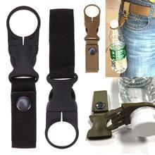 Backpack Hanger Hook molle attach Buckle Holder tool hike outdoor Quickdraw webbing camp Carabiner Water Bottle clip hanger D40