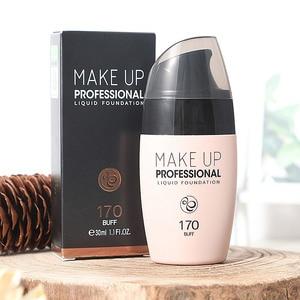 Image 3 - Gesicht Foundation Creme Wasserdicht langlebige Concealer Flüssigkeit Professionelle Make Up Volle Abdeckung Matte Basis Machen Up